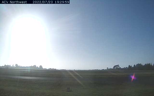 Arcata Airport Webcam in Northern California!