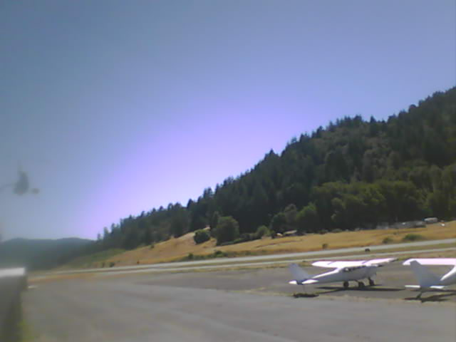 Garberville Airport Webcam from Garberville, California!