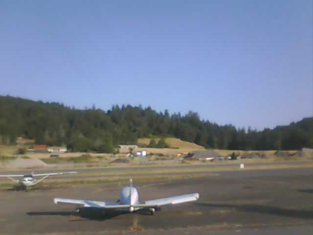 Garberville Airport Webcam in Northern California!