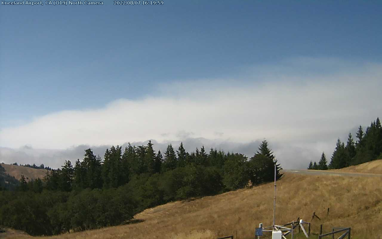 Kneeland Airport Webcam from Humboldt County, California!