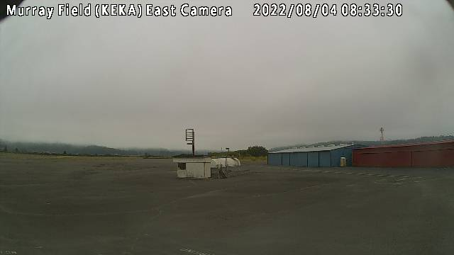 Murray Field Airport East Camera in Northern California!