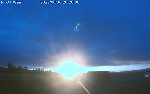 Webcam at the Rohnerville Airport