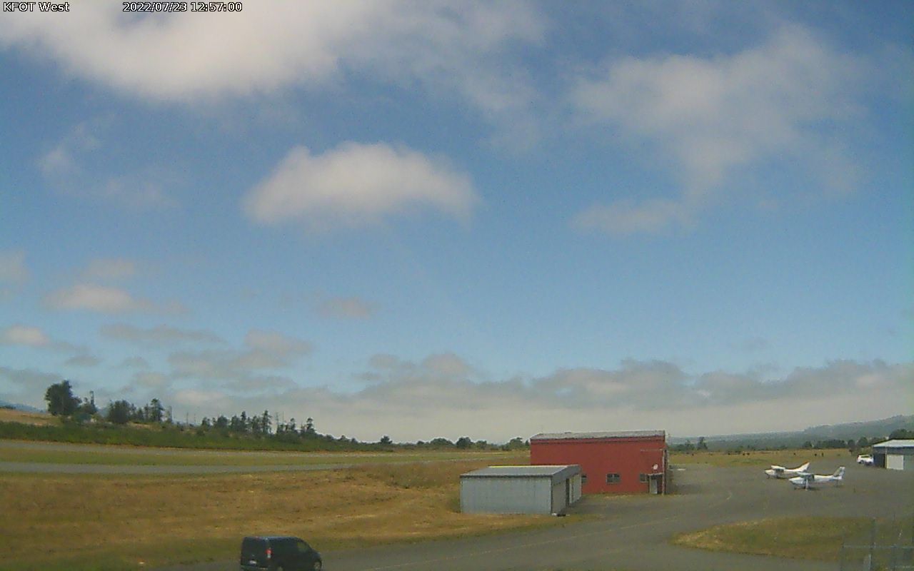 Rohnerville Airport Webcam from Fortuna, California!