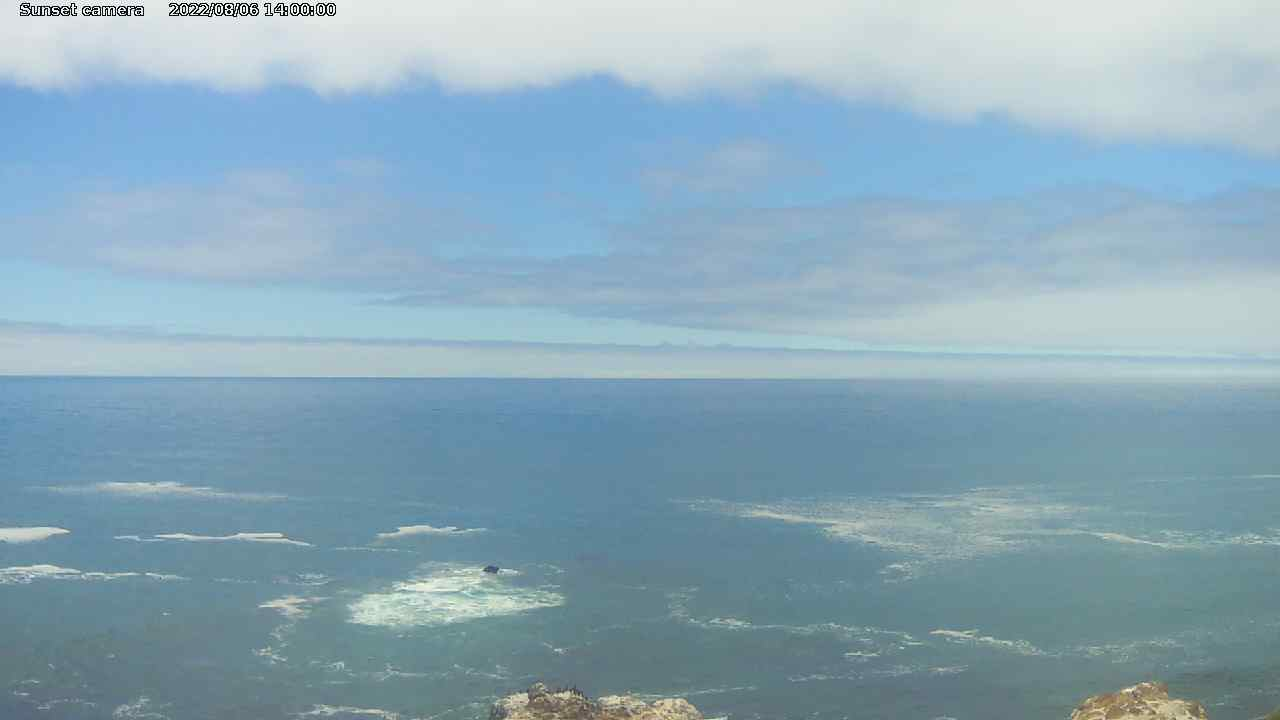 Webcam at Shelter Cove Airport, California!